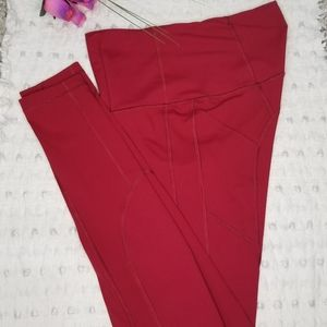Victoria's Secret VSX Sport tights Red Small